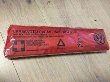 VERBANDTASCHE MIT WARNDREIECK von Volkswagen !! 100% Original !!!