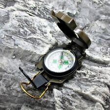 LARGE LIQUID FILLED NAVIGATION LENSATIC COMPASS camping hiking survival kit EDC