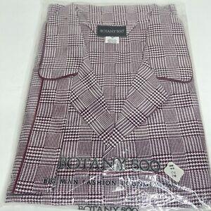 Botany 500 Fashion Loungwear 4XL BIG Mens, Red/White Vintage Pajamas NOS (F)