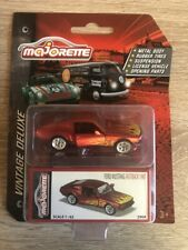 Majorette 212052016 - Vintage Deluxe Box - Ford Mustang Fastback Flame - Neu