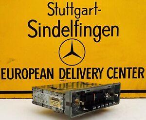 """Becker Europa """"6 Buttons Rare"""" Mercedes Benz 107 108 109  114 115 116 123 Coups"""
