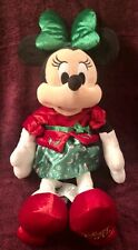 HOLIDAY PLUSH MINNIE MOUSE 15
