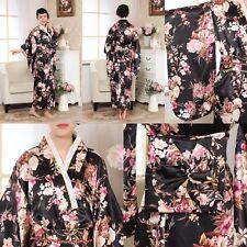 Junoesque Vintage Yukata Japanese Haori Kimono with Obi cosplay women dress