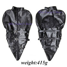 Straight jacket Monoglove for shoulders costume party escapology suit Leather