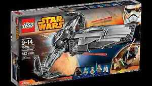 Lego 75096 Sith Infiltrator NO MINIFIGURES & ACCESSORIES