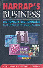 Harrap's French Business Dictionary: English-French - Francais-Anglais by...