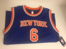 New NBA Officials Product Youth Porzingis 6 Jersey Size Large Blue