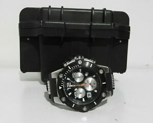 Invicta Men's Speedway Stainless Steel Quartz Watch with Silicone Strap (22235)