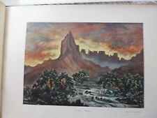 Tahiti/Moréa:Gravure 19°in folio couleur/ MOOREA