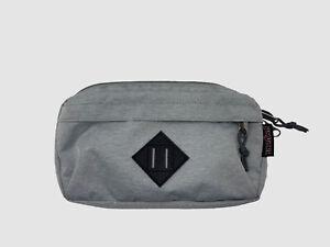 $84 Jansport Mens Gray Adjustable Fanny Waist Hip Pack Carry Travel Camping Bag