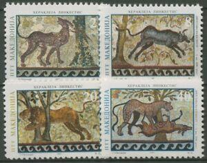 Makedonien 1997 Römische Mosaiken in Heraklia und Stobi 95/98 postfrisch