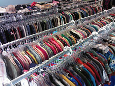 Wholesale Resale Thrift Store 50 pc Lot Clothing Handbags Etc Mixed Sizes