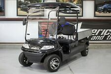 New 2020 Black Advanced EV 48V Electric Utility Bed Golf Cart 2 Passenger