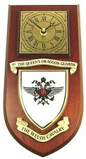 1ST QUEENS DRAGOONS REGIMENTAL CLASSIC HAND MADE TO ORDER WALL CLOCK