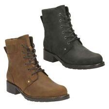 Clarks Women's Regular Size Lace Up Shoes