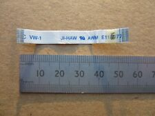 JI-HAW AWM E118077 12-Pin 50mm x 7mm FFC Flat Flex Ribbon Cable 50.4H002.021