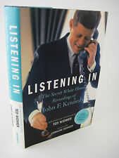 1st/1st Printing LISTENING IN John F. Kennedy SECRET WHITE HOUSE RECORDINGS w/CD