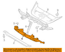 PORSCHE OEM 15-16 Cayenne Radiator Core Support-Bracket 95850593140