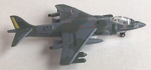 """AV-8B HARRIER II US Marines Realtoy Diecast Model Airplane 4"""" Wing Span"""