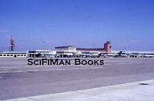 KODACHROME 35mm Slide Germany Munich Airport Lufthansa Airplanes Old Trucks 1973