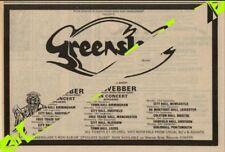Greenslade AJ.Weber Spyglass Guest UK Tour Advert MM-ZPWK
