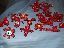 BAKUGAN BRAWLERS RED PYRUS BATTLE GEAR TRAPS GUND INVADERS