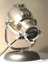 VINTAGE STRAND THEATRE SPOT LIGHT DESK LAMP 50s EAMES FILM RETRO ALESSI SILVER