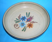 Vintage Hartrox Pottery - Attractive Floral Inspired Shallow Bowl (Makers Mark).