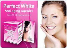 1 Powerful Perfect White Skin Whitener Whitening Tablet Glutathione 30 Pills
