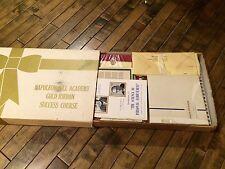 Napoleon Hill Academy Gold Ribbon Success Course /Original 1964 Unused