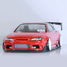 Pandora RC Cars NISSAN x ORIGIN Labo SILVIA S15 Drift 198mm Clear Body #PAB-148