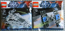 Lego Star Wars Mini Set Lot 30056 Imperial Star Destroyer, 8028 Tie Fighter NEW