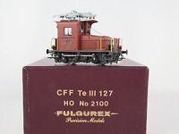 GL001 - BRASS MODEL H0 - FULGUREX 2100 E-LOK Te III 127 SBB CFF - OVP