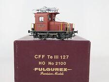 GL001 - BRASS MODEL H0 - FULGUREX 2100 E-LOK Tè III 127 SBB CFF - ÖVP