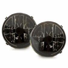 For VW Golf 1 Cabrio Beetle T2 LT G W430 Black Clear Glass Headlight Cross Hair