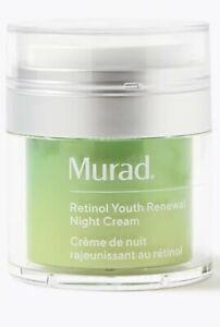 NEW MURAD Retinol Youth Renewal Night Cream 50ML Unboxed RRP £70