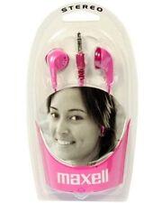 Auricolari e cuffie intrauricolari rosa Maxell