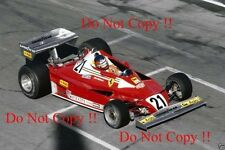 Gilles Villeneuve Ferrari 312 T2 Canadian Grand Prix 1977 Photograph 3