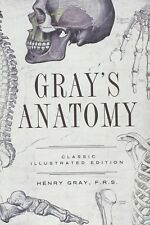 *New Hardcover* GRAY'S ANATOMY by Henry Gray Classic Illustrated Edition 2013