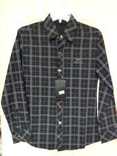 Emporio Armani Shirt Long Sleeve Black M Medium