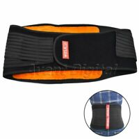 Waist Back Support Protect Motorcycle Protective Lumbar Brace Kidney Belt 1Pc
