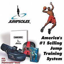 Excellent JumpSole Strength Shoe Helps Improve Vertical Leap w/ DVD - 11-14 Size