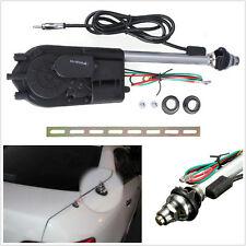 New 12V Car Off-Road AM FM Radio Mast Power Booster Electric Antenna Aerial Kit