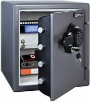 SentrySafe SFW123GDC Fireproof Safe and Waterproof Safe with Digital Keypad 1.23