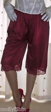 Vintage style soft silky nylon pantie slip~pettipants~culottes 20~22