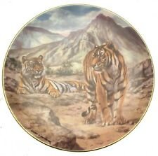 More details for tigers of the world desert tigers plate