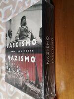 GG LIBRO: COFANETTO FASCISMO NAZISMO STORIA ILLUSTRATA GIUNTI 2 VOL NUOVO!!!