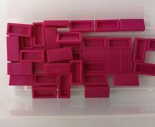 Lego Fliese 1x2 mit Nut 3069b Magenta 5 Stück NEU ref:248