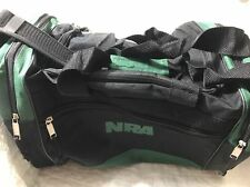 NRA Range Bag Duffel Carry Bag Black And Green National Rifle Association