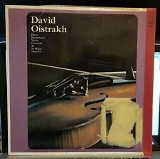 David Oistrakh plays Beethoven's Violin Concerto in D Major Opus 61 - LP